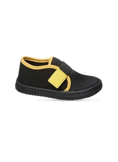 Sanbe Sanbe 401 R 004 Anatomik Erkek Çocuk Keten Ayakkabı Siyah